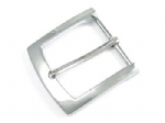40mm Belt Buckle, Chrome Plated, Zinc Die Cast (approx 1½ inch). Code AY4
